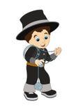 Zeichentrickfilm-Figur - Halloween - Illustration für t Lizenzfreie Stockfotografie