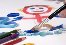 Zeichnen 1 Lizenzfreies Stockfoto