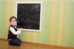 Zeichnen eines Autos Stockbilder