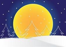 Zeichnen Sie Weihnachtsbaum lassen, auf den Baum zu formen und die Hauptrolle zu spielen Stockfotos