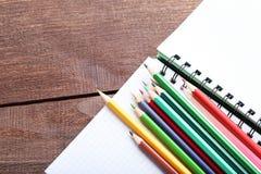 Zeichnende bunte Bleistifte Lizenzfreies Stockbild