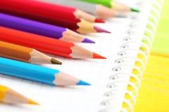 Zeichnende bunte Bleistifte Lizenzfreie Stockfotografie