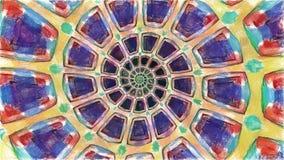 Zeichnende Farbe der Kunst des abstrakten Hintergrundes lizenzfreie abbildung