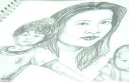 Zeichnung Stockfotos