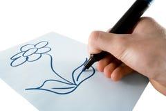 Zeichnung Stockbild