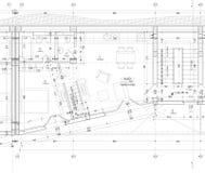 Zeichnung der Wohnung Stockfotos