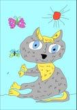 Zeichnung des Kind s Stockbild