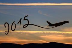 Zeichnung 2015 des neuen Jahres Lizenzfreie Stockbilder