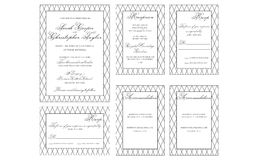 Zeichnungen auf weißem Hintergrund Lizenzfreies Stockbild