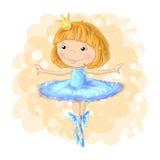 Zeichnungs-Plakatzeichentrickfilm-figur des netten Mädchenvektors romantische Handfür Kleid oder anderer Gebrauch in der hübschen Stockfoto