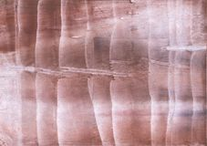 Zeichnungsbeschaffenheit der farbigen Wäsche Brown-Wellen Stockfotografie