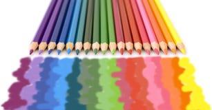 Zeichnungsfarben Stockbilder