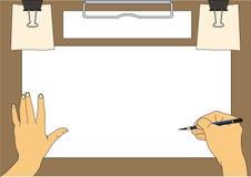 Zeichnungshintergrund Lizenzfreies Stockbild