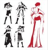 Zeichnungskleidung. Lizenzfreie Stockfotos