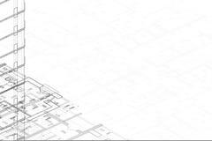 Zeichnungskompaß über einem tiefen blauen Hintergrund Stockfoto
