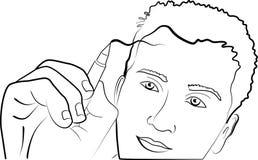 Zeichnungsleute lizenzfreie stockfotos