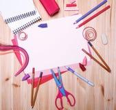 Zeichnungsmaterialien Stockfotografie