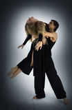 Zeigen-Ballett Stockfoto