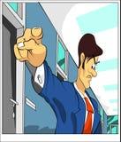Zeigen des Geschäftsmannes Lizenzfreie Stockfotos