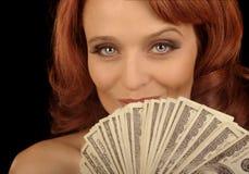 Zeigen Sie das Geld Stockbild