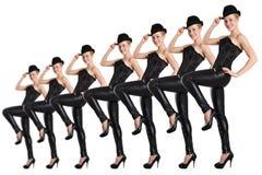 Zeigen Sie Tänzer Stockbild