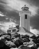 Zeigen Sie Wilson-Leuchtturm lizenzfreie stockfotografie