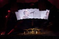Zeigen U2 360 in São Paulo Stockfotos