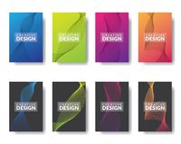 Zeigerinformations-Grafikdesignschablone lizenzfreie abbildung