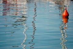 Zeil aan open wateren Stock Afbeeldingen