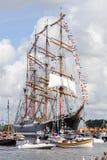 Zeil Amsterdam 2010 - paradeer zeil-binnen Royalty-vrije Stock Foto