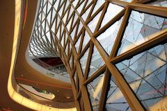 Zeil Francoforte sul Meno (centro commerciale a Francoforte) Fotografia Stock