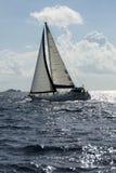 Zeilboot stock afbeeldingen
