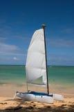 Zeilboot 2 Royalty-vrije Stock Afbeeldingen