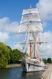 Zeilboot Royalty-vrije Stock Foto's