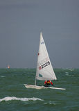 Zeilboot stock fotografie