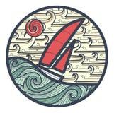 Zeilboot Stock Foto's