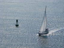 Zeilboot Charleston Harbor South Carolina 2 Stock Afbeeldingen