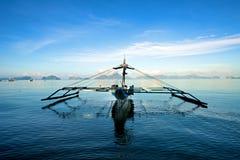 Zeilboot in Gr Nido Stock Foto