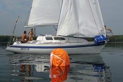 Zeilboot-twee Royalty-vrije Stock Afbeeldingen