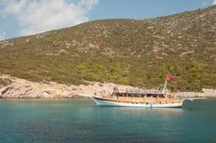 Zeilboten in de Middellandse Zee Royalty-vrije Stock Foto's