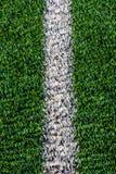 Zeile auf dem grünen Gras Lizenzfreies Stockfoto
