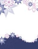 Zeile der Blumen Lizenzfreie Stockfotografie