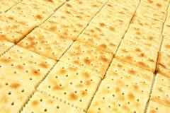 Zeile der Cracker Stockfotos