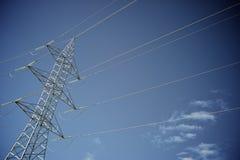 Zeile des Stroms Lizenzfreies Stockbild