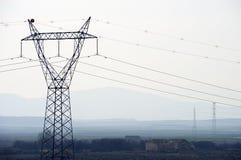 Zeile des Stroms Stockbilder