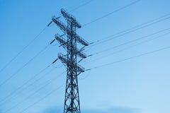 Zeile des Stroms Lizenzfreie Stockfotos