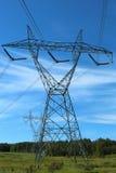 Zeile des Stroms Lizenzfreies Stockfoto