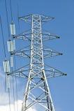 Zeile des Stroms Kontrollturm Stockbilder