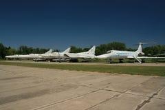 Zeile von Tu 22's Stockfoto