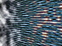 Zeilen - abstraktes Bild Vektor Abbildung